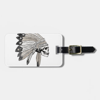 Indian Chef Luggage Tag