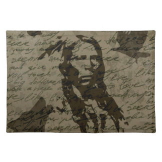 Indian chief placemat