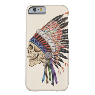 Indian Chief Skull iPhone 6 case