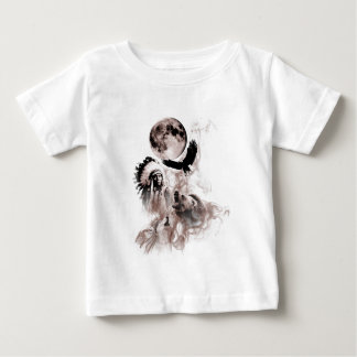 Indian Chief - Wolf - Moon - Bear - Eagle Baby T-Shirt