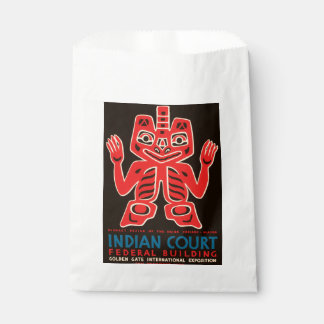 Indian Court, Federal Building Favour Bag