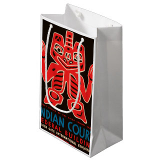 Indian Court, Federal Building Small Gift Bag