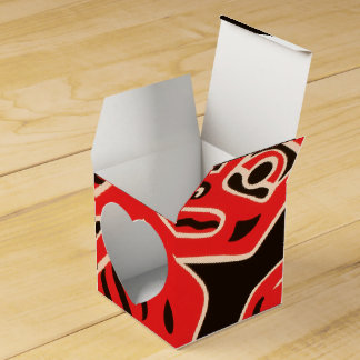 Indian Court, Federal Building Wedding Favor Boxes