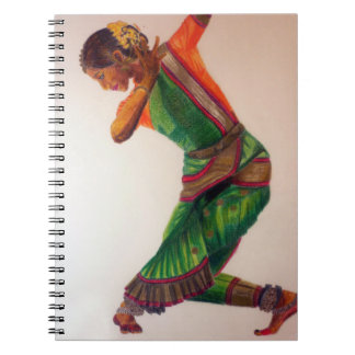 Indian dance II Notebook