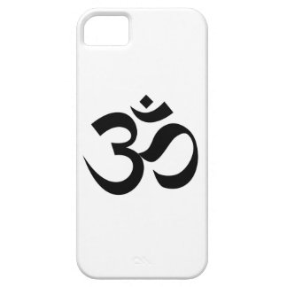 Indian Dharmic religion sacred symbol mantra Hindu Case For The iPhone 5