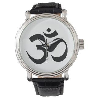 Indian Dharmic religion sacred symbol mantra Hindu Watch
