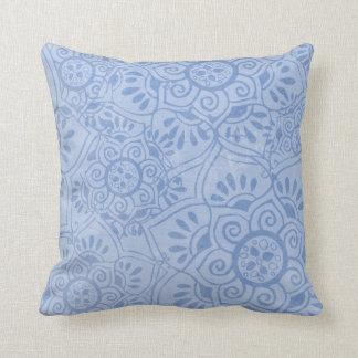 Indian Dream [blue] Pillow