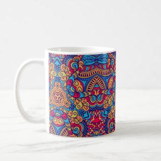 Indian Dream Kaleidoscope Coffee Mug