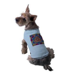 Indian Dream Kaleidoscope Doggie Tshirt