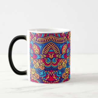 Indian Dream Kaleidoscope Magic Mug