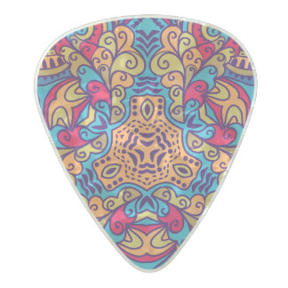 Indian Dream Kaleidoscope Pearl Celluloid Guitar Pick