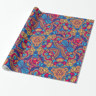 Indian Dream Kaleidoscope Wrapping Paper