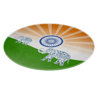 Indian elephant boards
