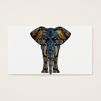 Indian elephant business card
