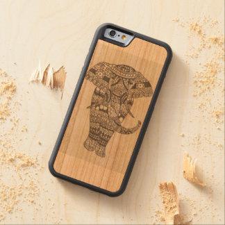 Indian elephant cherry iPhone 6 bumper case