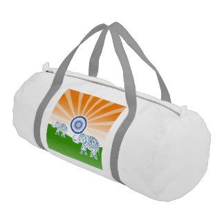 Indian elephant gym bag