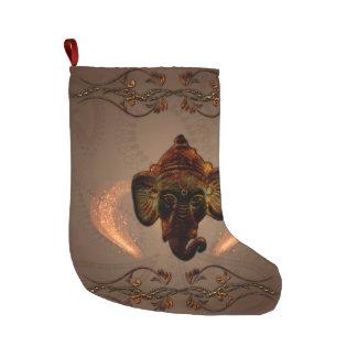 Indian elephant large christmas stocking