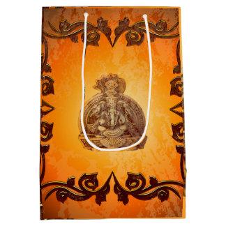 Indian elephant medium gift bag