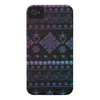 indian elephant pattern iPhone 4 case