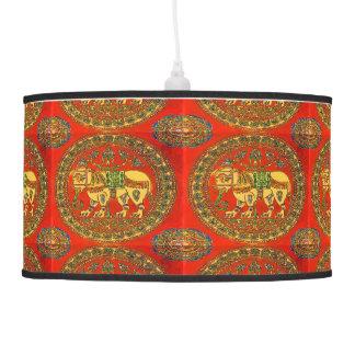 Indian Elephant Pendant Lamp