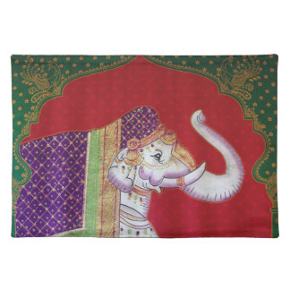 Indian elephants American MoJo Placemat