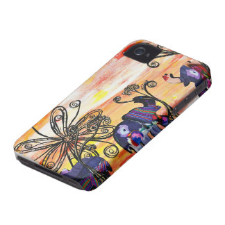 Indian Elephants Case-Mate ID iPhone 4 Case