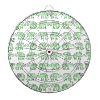 Indian elephants dart board