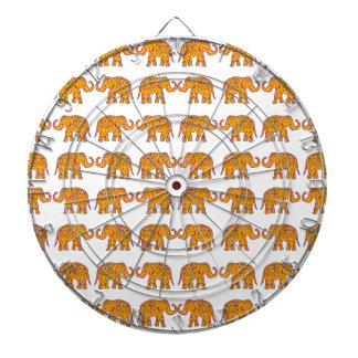 Indian elephants dartboard