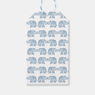 Indian elephants gift tags