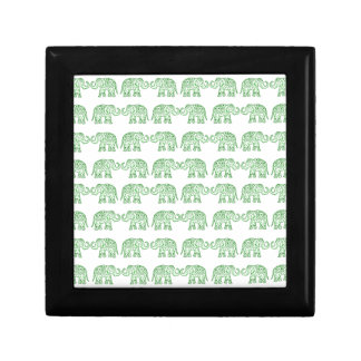 Indian elephants keepsake boxes