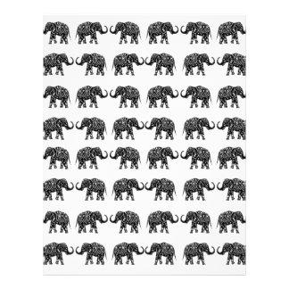 Indian elephants letterhead