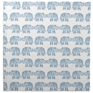 Indian elephants napkin
