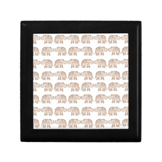 Indian elephants trinket boxes