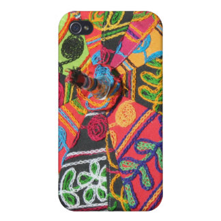 Indian Embroidered Parasol iPhone Case I Case For iPhone 4