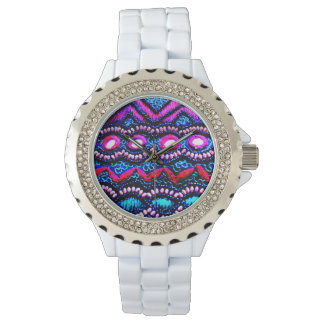 Indian Embroidery Wrist Watches