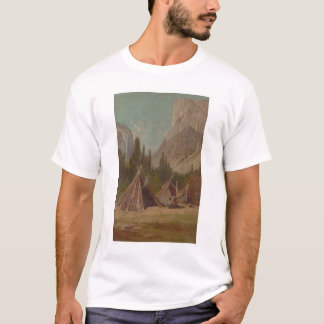 Indian Encampment in Yosemite Valley (1189) T-Shirt