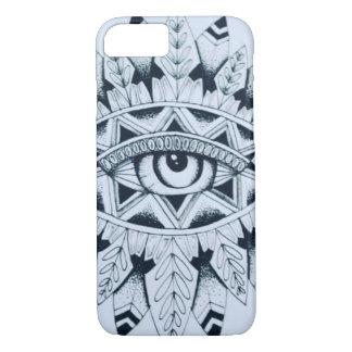 Indian eye iPhone case