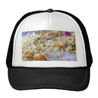 Indian fast food snack mesh hats