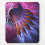 Indian  Feathers Fractal Mousepad