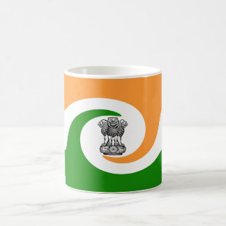Indian flag coffee mug
