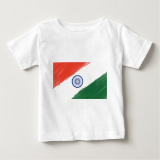 Indian Flag Flag India National Country Nation Baby T-Shirt