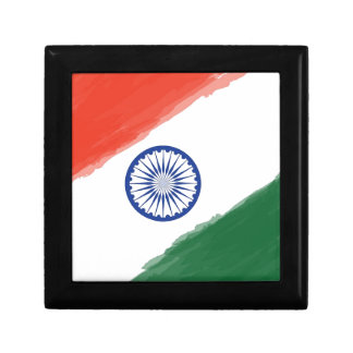 Indian Flag Flag India National Country Nation Gift Box
