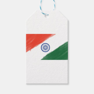 Indian Flag Flag India National Country Nation Gift Tags