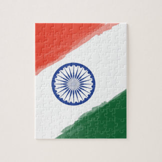 Indian Flag Flag India National Country Nation Jigsaw Puzzle