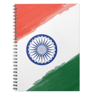 Indian Flag Flag India National Country Nation Notebook
