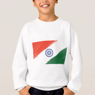 Indian Flag Flag India National Country Nation Sweatshirt