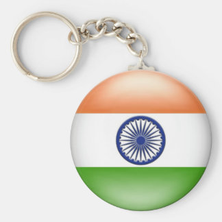 Indian Flag Keychain