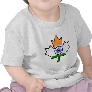 Indian Flag Maple Leaf Shirts