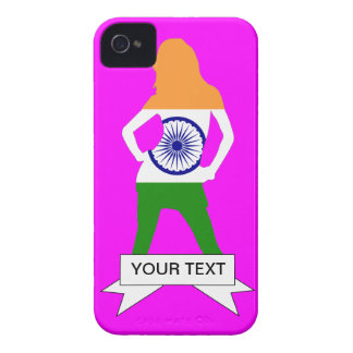 Indian flag on any color iPhone 4 Case-Mate case