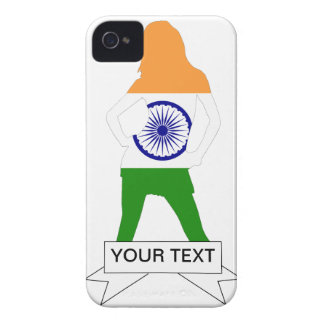 Indian flag on any color iPhone 4 covers